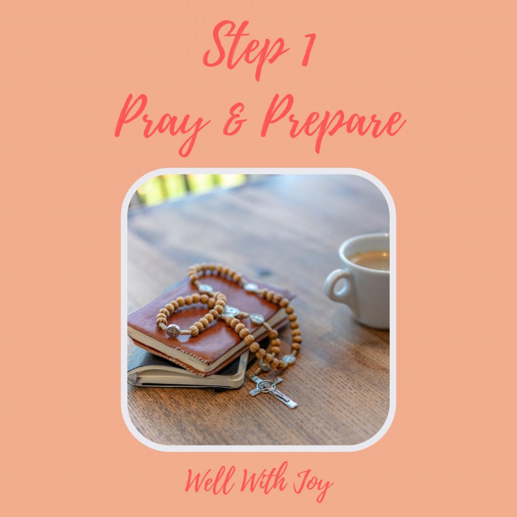 pray and prepare